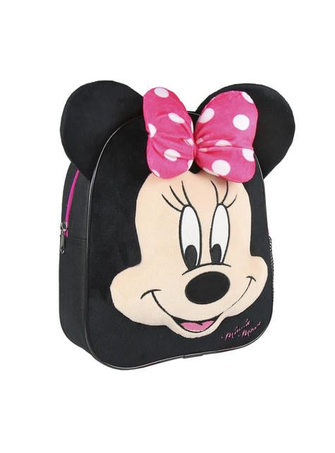 Mochila infantil Minnie Mouse negra - Disney