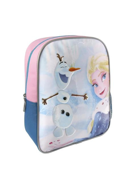 Olaf and Elsa Frozen interactive backpack