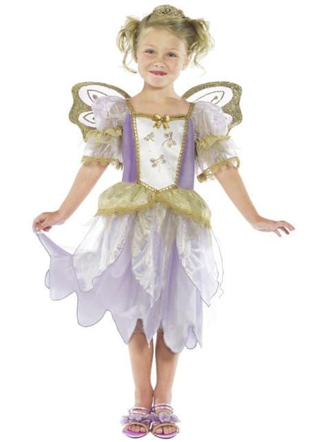 Fato de princesa fada para menina