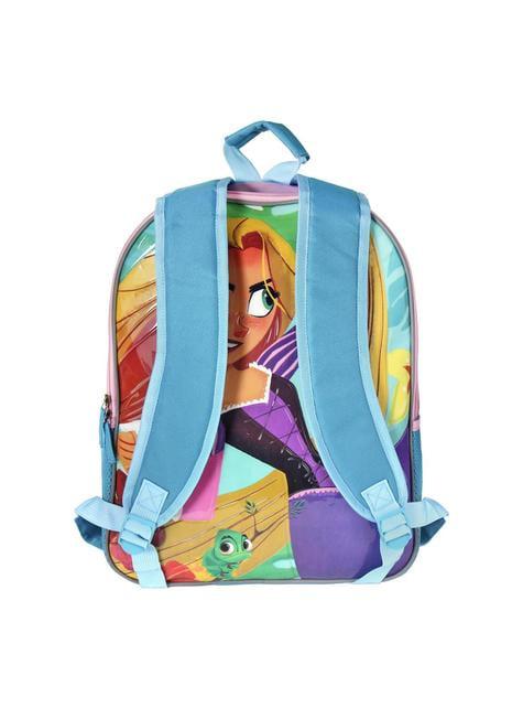 Mochila escolar reversible Rapunzel - Enredados