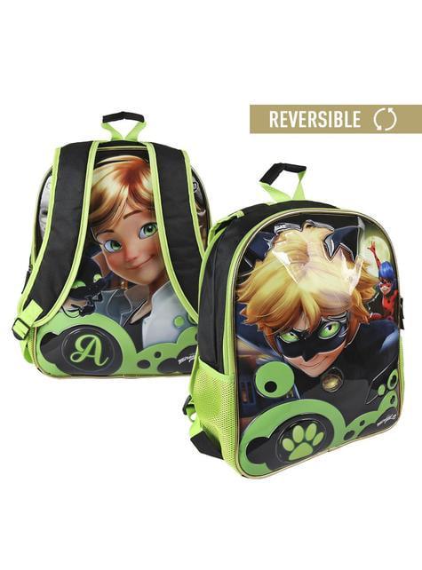ladybug and cat noir backpack