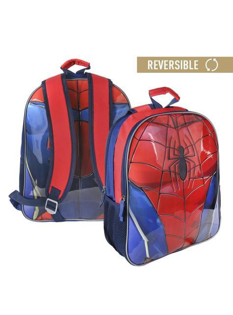 Mochila escolar reversible de Spiderman