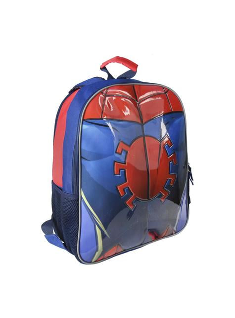 Mochila escolar reversible de Spiderman - barato