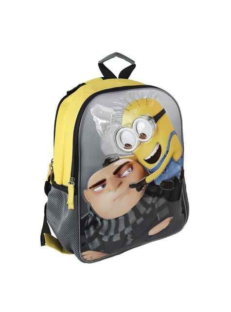 The Minions reversible school backpack