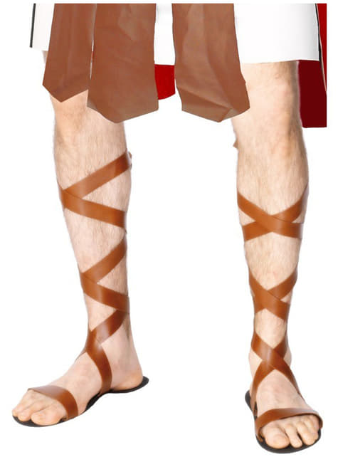 Sandalias romanas - para tu disfraz