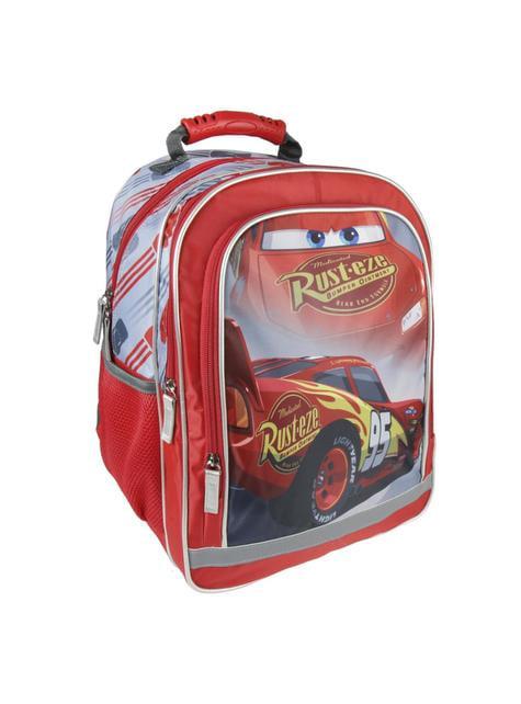 Mochila escolar Faísca McQueen premium - Cars 3