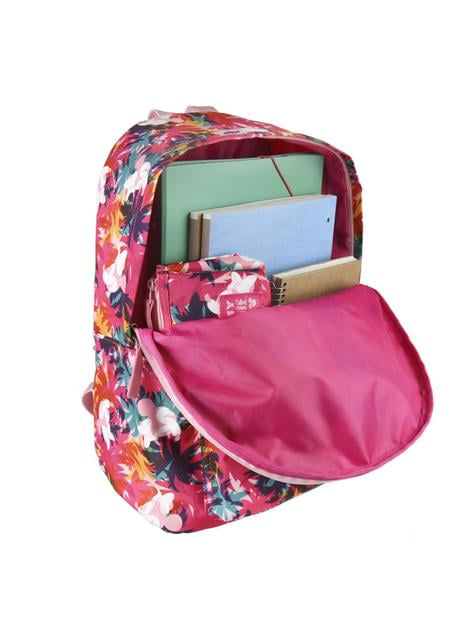 Minnie Mouse with flowers school backpack - Disney