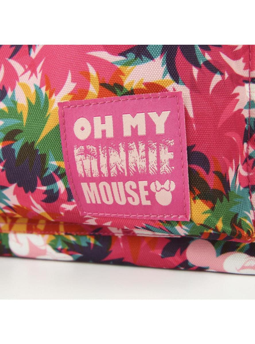 Minnie Maus Schulrucksack mit Blumen für das nächste Schuljahr ...