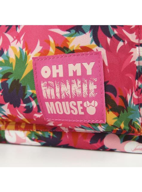 Mochila escolar Minnie Mouse con flores - Disney