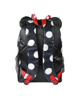 Zaino scolastico Minnie vesito e laccio - Disney
