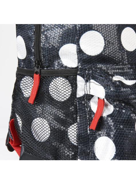 Mochila escolar Minnie Mouse vestido y lazo - Disney - barato