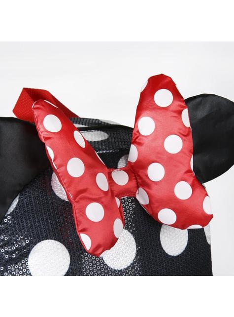 Mochila escolar Minnie Mouse vestido y lazo - Disney - comprar