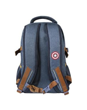 Plecak Kapitan Ameryka imitacja dżinsu - Avengers