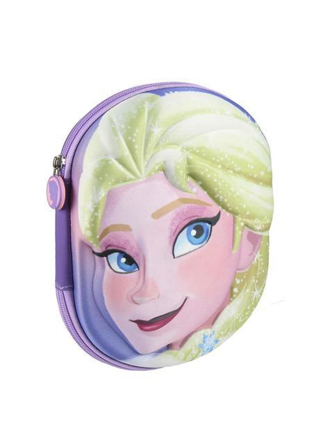 Estuche de tres compartimentos 3D Elsa – Frozen