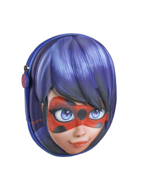 3D The Adventures of Ladybug pencil case with three compartments
