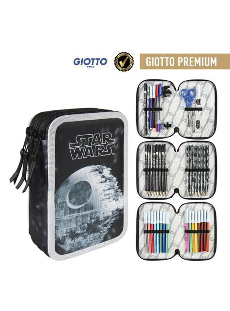 Estuche de tres cremalleras Star Wars premium