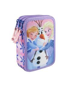 Disney Inside Out Size 12.5x19.5x6.5cm Triple Pencil Case with Accessories