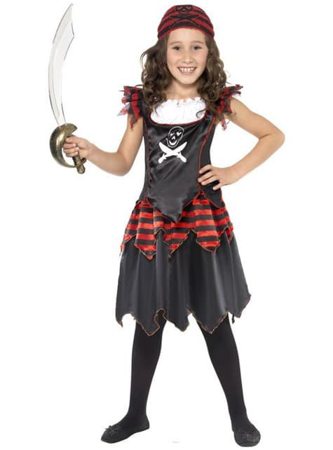 Μικρή πειρατική φορεσιά για κορίτσια