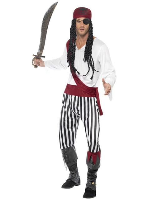 Kostým pirát pre dospelých