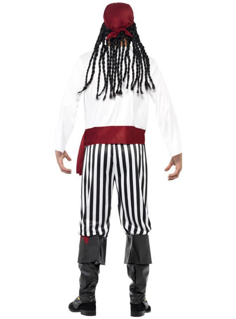 Fato de homem pirata
