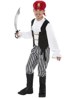 Piratpojke Maskeraddräkt Barn