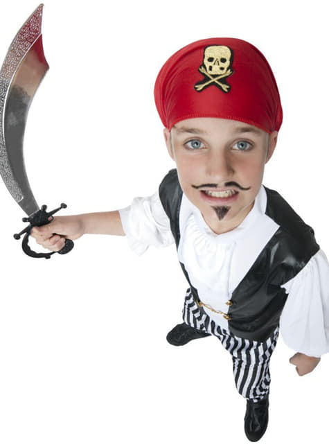 Disfraz de pirata granuja para niño - infantil