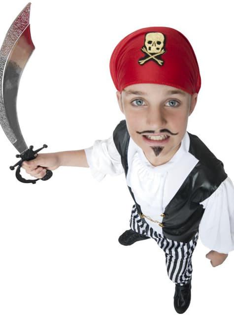 Pirat slyngel kostume til børn