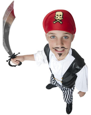 Costum de pirat pungaș pentru băiat