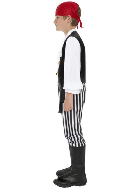 Disfraz de pirata granuja para niño - traje