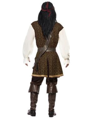 Pirat kostyme til mann