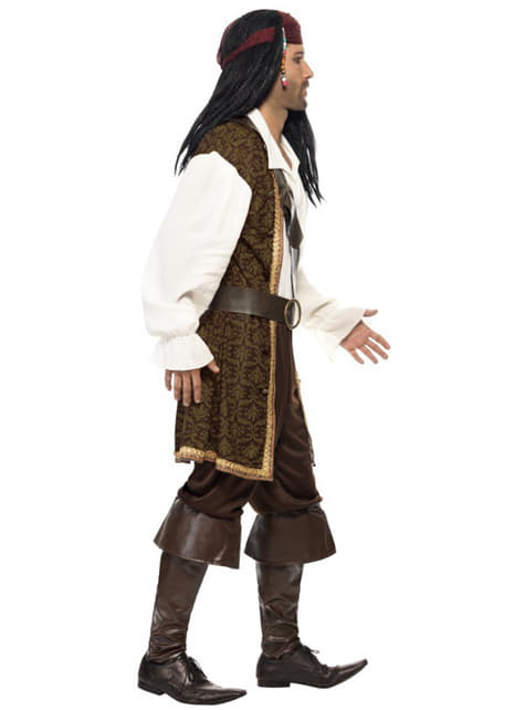 Pirate Costume High Seas for adults