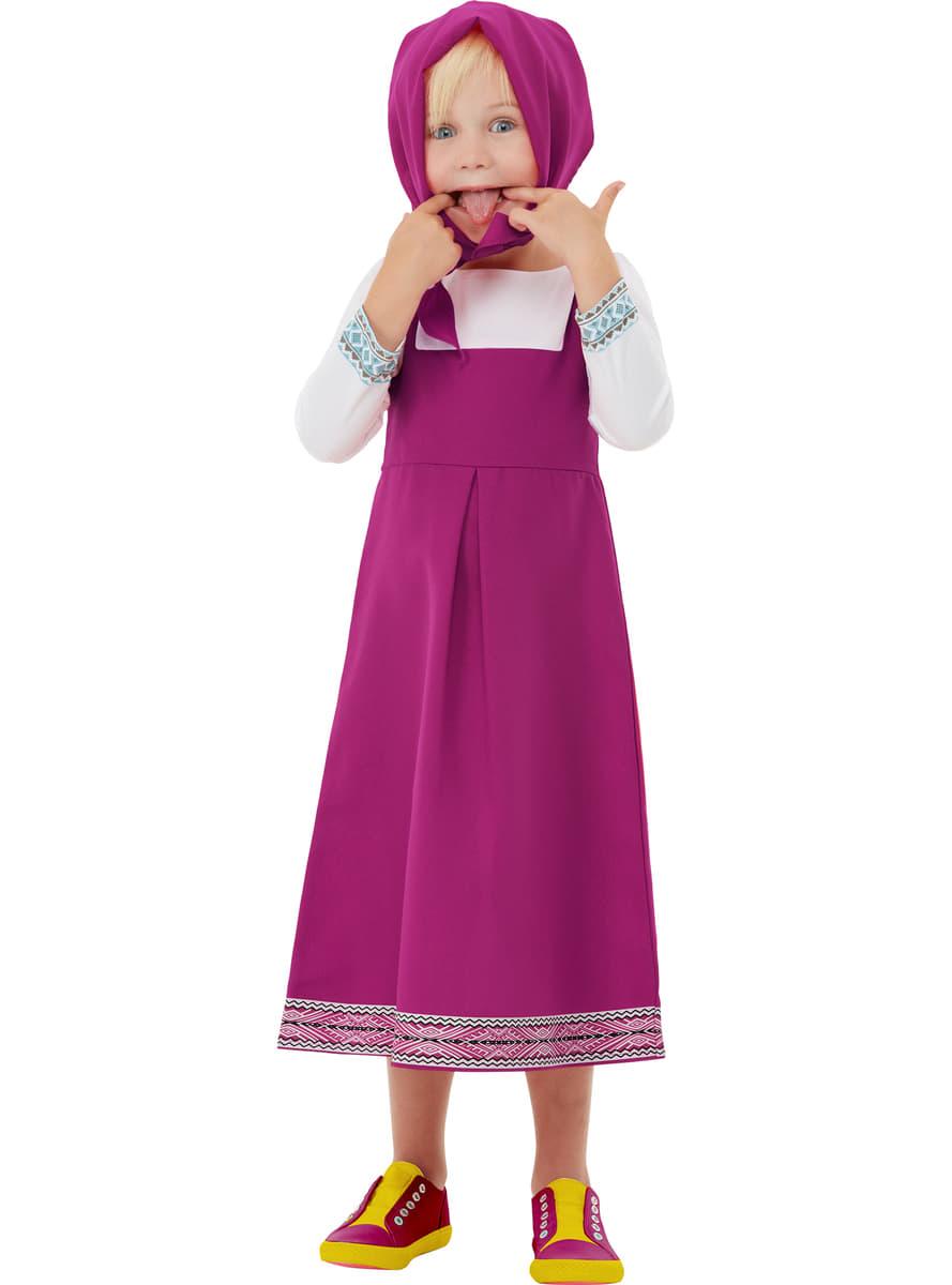 c65871d46f3 Masha costume for girls - Masha and the Bear. The coolest