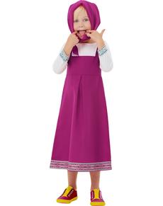 Disfraz de Masha para niña - Masha y el Oso