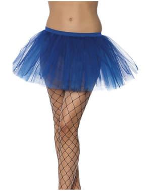Underkjole af tylskørt blå