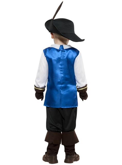 Mutiges Musketier Kostüm für Jungen Classic