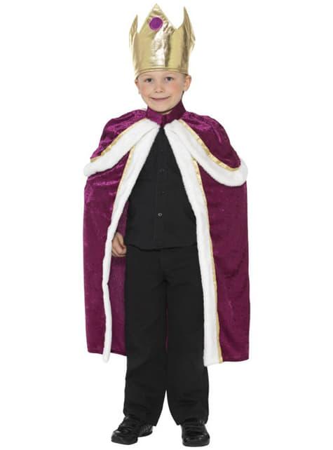 Junger König Kostüm
