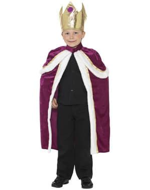 Chlapecký kostým král