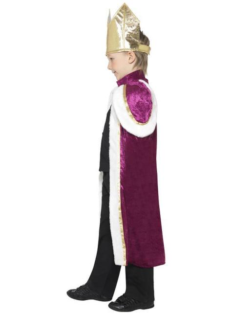 Koning kostuum voor jongens
