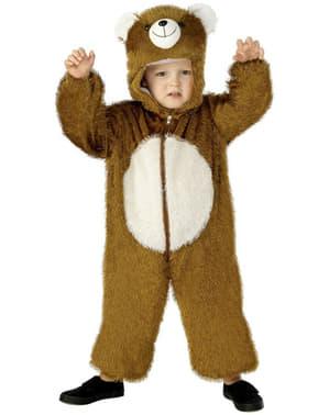 Fato de urso para menino