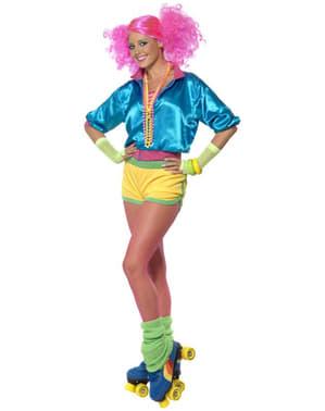 Disfraz de años 80 patinadora