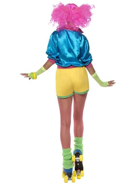 Disfraz de patinadora - mujer