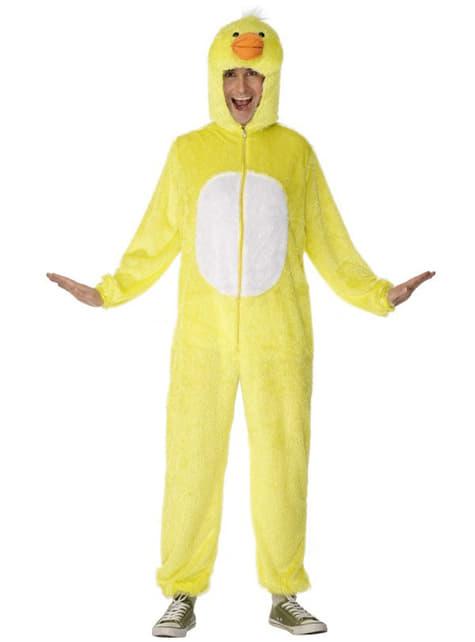 Disfraz de pato amarillo deluxe