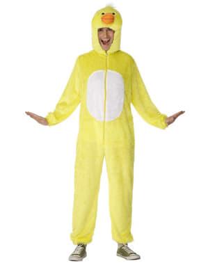 Kostým žlutá kachnička deluxe