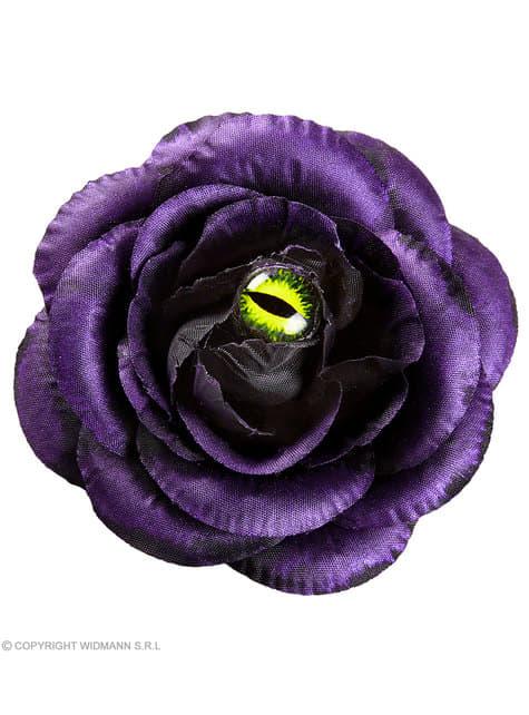 Barette cheveux rose violette