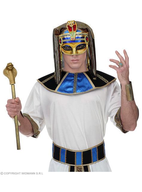 Egyptisk Farao Venetiansk øyemaske til voksne