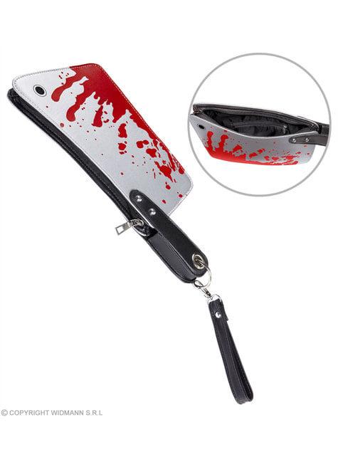 Bolso con forma de cuchillo ensangrentado - para tu disfraz