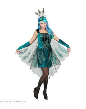 Påfugle kostume til kvinder