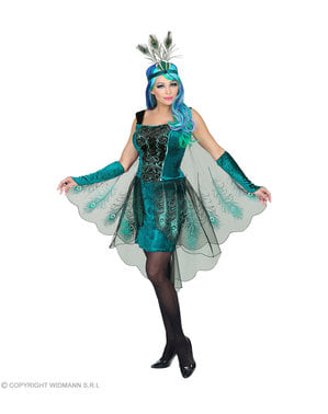 Peacock costume for women