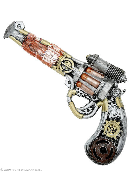 Steampunk skum revolver
