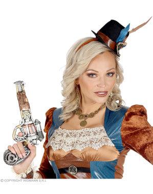 Steampunk schuim revolver